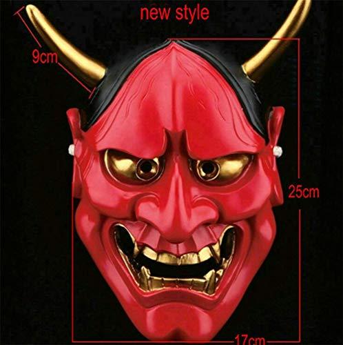 MIANJU Monster Estéreo Máscara De Halloween Resina Partido
