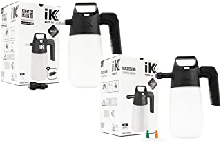 iK PUMP SPRAYER COMBO KIT (2-Pack) 35 oz iK FOAM 1.5 Professional Auto Detailing Foamer + iK MULTI 1.5 Multi-Purpose Pressure Sprayer | Pro Quality Tough with Easy To Use Design