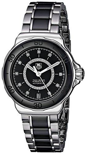 TAG Heuer Women's WAU2210.BA0859 Formula 1 Analog Display Swiss Automatic Silver Watch