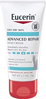 Eucerin Advanced Repair Hand Creme 2.7 oz ( Pack of 4)