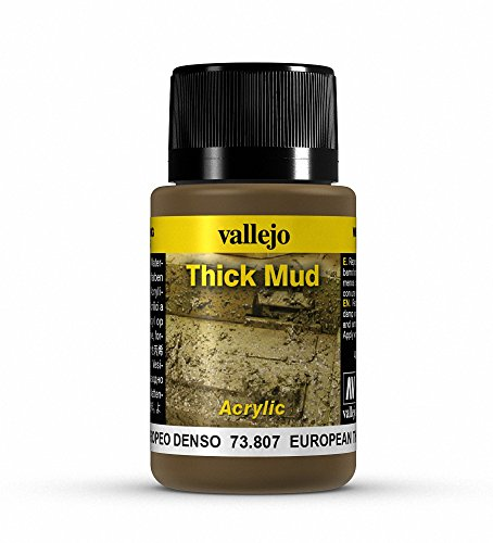 Vallejo European Thick Mud Model Paint Kit
