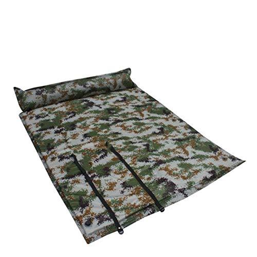 Yinglihua Camping Air Bed Waterdicht En Lichtgewicht 2 Persoon Opblaasbare Dikke Schuim Air Mattrice Van Opblaasbare Camping Slaapkussen Met Kussen Geweldig Voor Camping Stranden