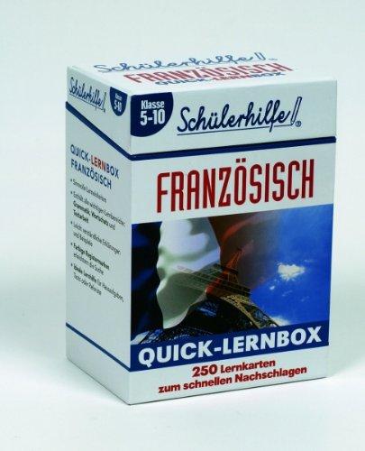 Quick-Lernbox Französisch, Klasse 5-10