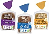 Pan de Molde con Masa Madre Bio | Pack 3 uds | Integral con 5 semillas, integral con chía e integral con maíz, cúrcuma y semillas de Girasol | De cultivo Ecológico