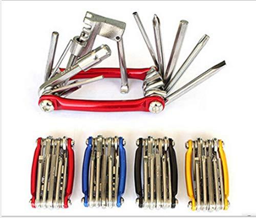 Les outils de réparation de vélos, les outils multifonctions en acier allié durable, avec brise-chaîne, sont un kit de réparation de vélo indispensable pour le cyclisme. (red)
