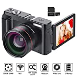 Digital Camera YouTube Vlogging Camera HD 1080P 24MP Video Camcorder 16X Digital...