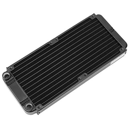 Aluminio PL2120B Fila de refrigeración por agua PC Kit de refrigeración líquida Ventilador de refrigeración Conjunto refrigerado por agua para otros sistemas de refrigeración para
