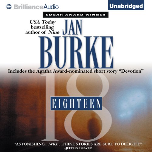 Eighteen audiobook cover art