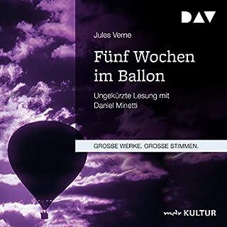 Fünf Wochen im Ballon                   Autor:                                                                                                                                 Jules Verne                               Sprecher:                                                                                                                                 Daniel Minetti                      Spieldauer: 9 Std. und 36 Min.     12 Bewertungen     Gesamt 4,5