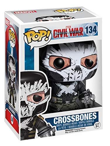 Capitan America Funko Pop! - Crossbones 134 Figura de coleccion Standard