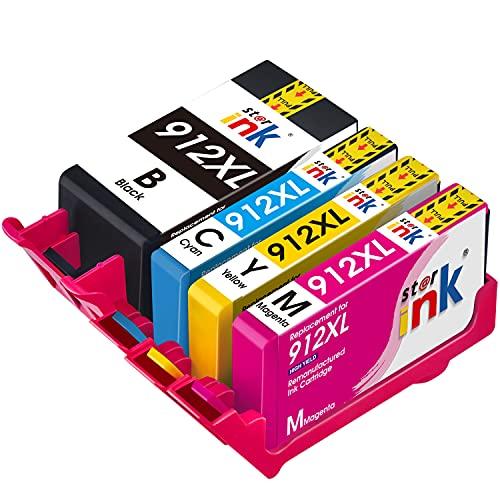st@r ink Cartucho de tinta 912XL compatible con HP OfficeJet Pro 8010, 8012, 8014, 8015, HP OfficeJet Pro 8020, 8022, 8023, 8024, 8025
