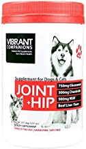 Vibrant Companions - Joint + Hip for Dogs and Cats, Supports Joint Health, Repair, and Mobility with Glucosamine, Collagen...