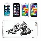 Reifen-Markt Hard Cover - Funda para teléfono móvil Compatible con Samsung Galaxy S6 Cazadores en la Caza Salvaje Oso Polar Bear Salvaje Grande Grande JABALÍ REH