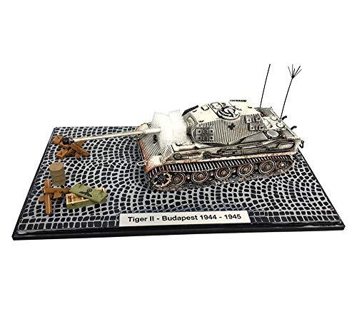 1/72 Chariot Legierung Modell, Militär Panzerkampfwagen VI AUSF B King Tiger Modell, Kinderspielzeug Und Geschenke, 5.5Inch X 2Inch