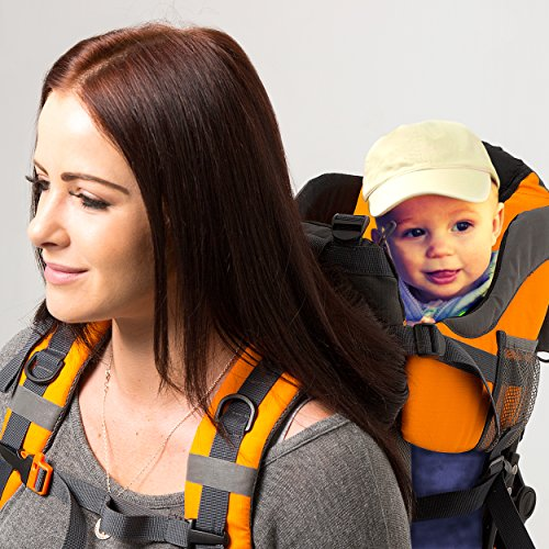 Premium Baby Backpack Carrier for Hiking with Kids – Carry your Child Ergonomically