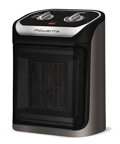 Rowenta Silent Comfort - Calentador Compacto, Small Heater, Negro, 210-Square Ft, 1, 1