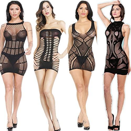Sexy lencería Trajes Sexy íntimo Porno Prado exótico Ropa Interior Ropa Interior camisón Dormido Vestido de Peluche peluques Mujeres