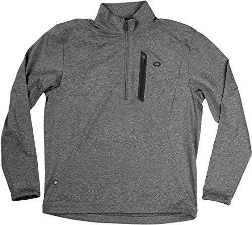 OGIO Herren All Elements 1/4-zip Jacket Jacke, schwarz, Medium