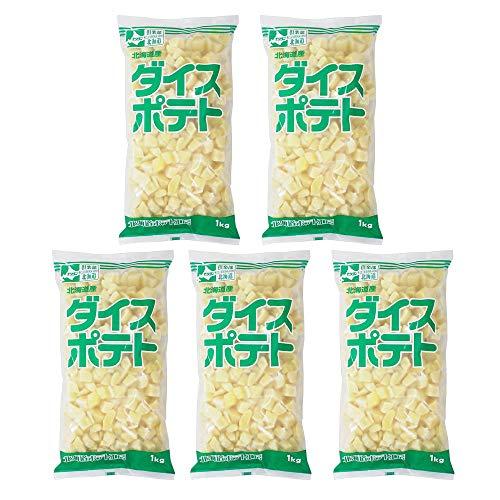 【まとめ買い】冷凍野菜 ダイスポテト モリタン 1kg x5…