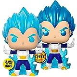 2Pcs Dragon Balles # 713 Blue Vegetaes Powering Up (Brilla En La Oscuridad) Figura De Acción Juguete...