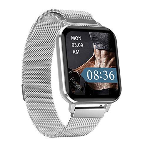 WSZ Reloj inteligente Fitness Tracker, pantalla táctil de 1.7 pulgadas,...