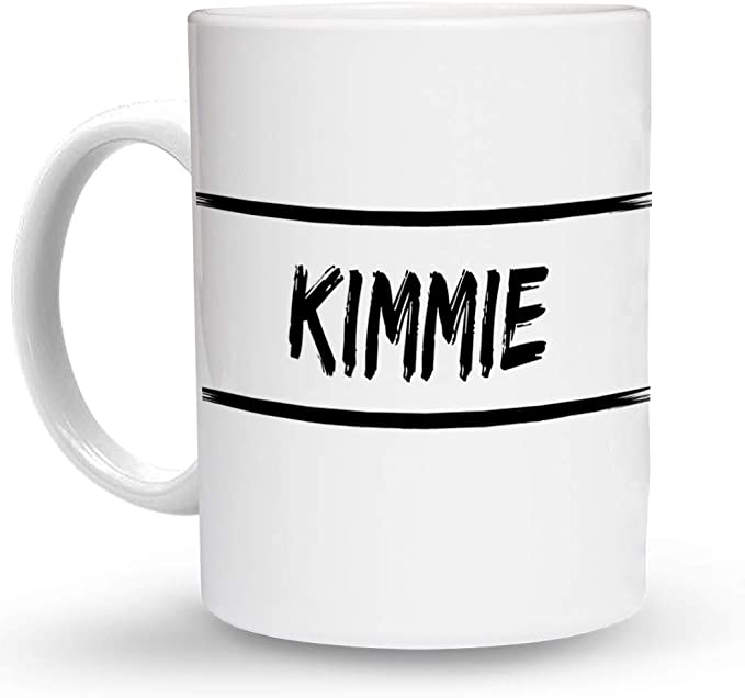 Makoroni - Kimmie Female Girl Name 15 oz Ceramic Large Coffee Mug