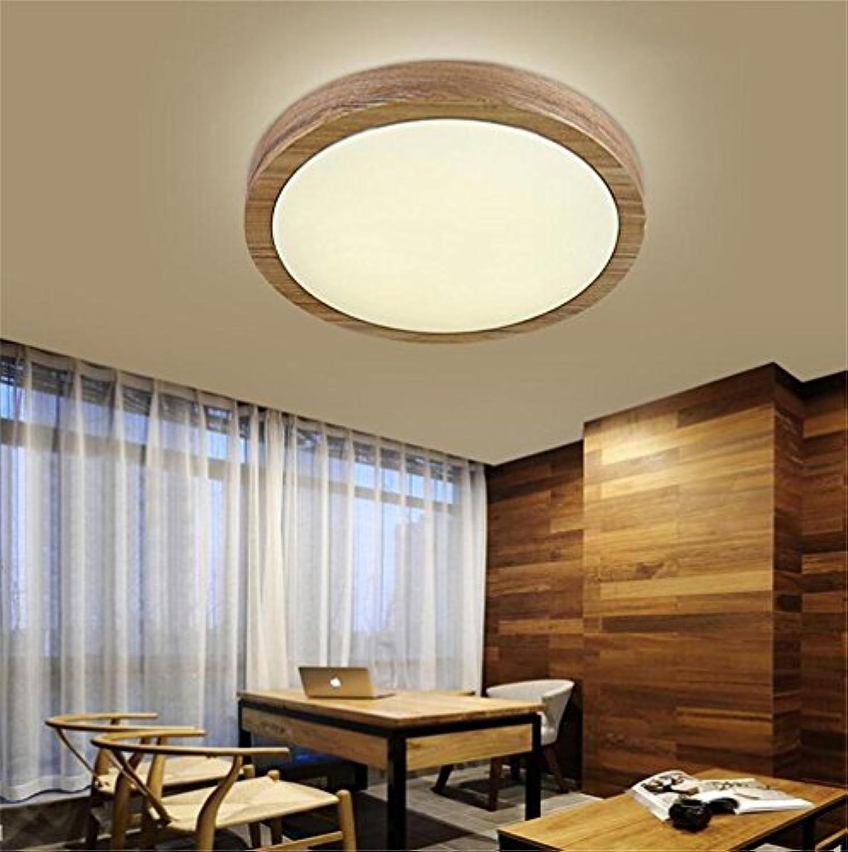 HAIZHEN Deckenlichter Einbauleuchten Massivholz-Schlafzimmer Nordic amerikanischen Restaurants Kreative Künste Bürodecke Persnlichkeit japanischen minimalistischen Holzdecken -langes Leben