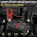 Zoom IMG-1 biuble avviatore batteria auto 2500a