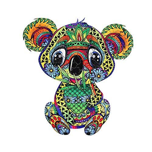 Allegorly Puzzle de Madera, Puzzles de Madera con Forma de Rompecabezas de Formas únicas, Puzzle Animales para Adultos y Niños Colección de Juegos Familiares