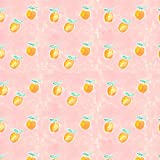 GRAPHICS & MORE Painterly Citrus Oranges Pattern Premium Roll Gift Wrap Wrapping Paper