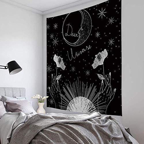 Junejour | Tarot tapiz colgante de pared horóscopo y colcha de adivinación colcha de playa