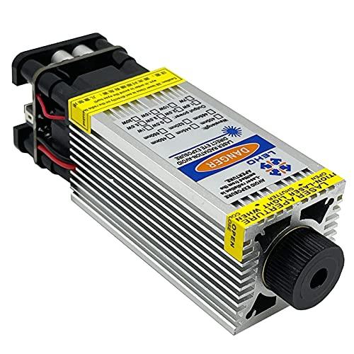 Módulo de grabado 3.5WCNC Cabezal de grabado, enfoque ajustable, potencia real, con PWM TTL, adecuado para CNC3018 3018PRO 6550 5040