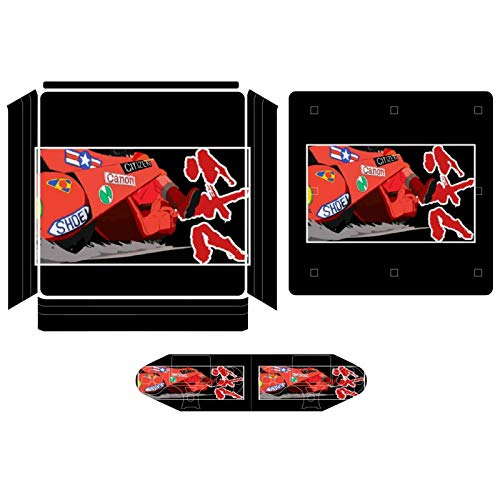 Akira Screeching Bike Compatible with PS4 Slim controller and console skin sticker protective cover wireless/wired gamepad controller