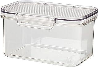 Valink Pojemnik na lodówkę organizer, kwadratowe pudełko do przechowywania lodówki wielokrotnego użytku plastikowe kuchnia...