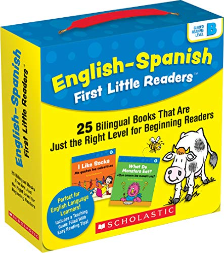 Compare Textbook Prices for English-Spanish First Little Readers: Guided Reading Level B Parent Pack: 25 Bilingual Books That are Just the Right Level for Beginning Readers Illustrated Edition ISBN 9781338662085 by Liza Charlesworth,Downey, Adrienne