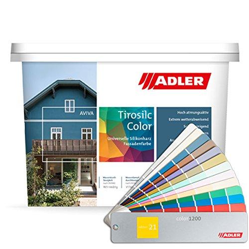 Aviva Tirosilc-Color 3l Fassadenfarbe/Weiß
