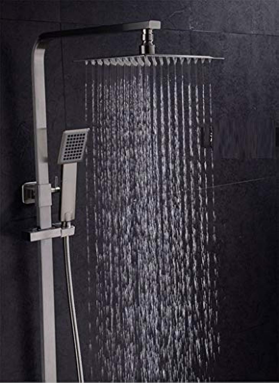 Square Drei Funktion Dusche Wc Edelstahl Dusche Hell Big Regen- Anzug