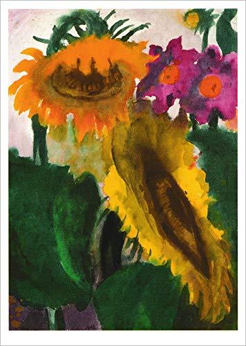 5er-Packung: Kunstkarte Emil Nolde