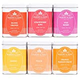 Harney & Sons Fruit Tea Sampler, Includes Six Different Flavors, Orange, 4 Oz (Pack of 6)