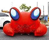 YJINGRUI inflable hinchable de cangrejo rojo cangrejo de modelo en movimiento, publicidad
