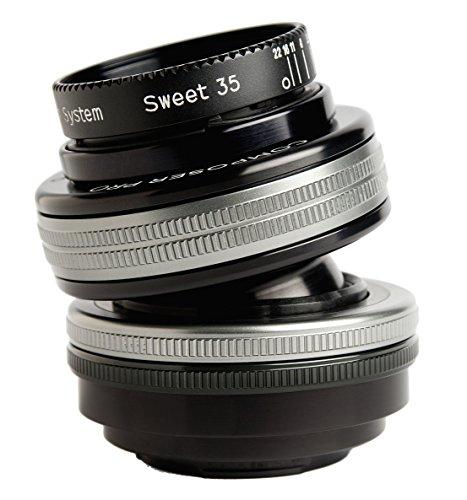 Lensbaby ティルトレンズ Composer Pro II with Sweet 35 フジフイルムX用 フルサイズ対応 35mm F2.5 レンズベビー光学系交換システム対応