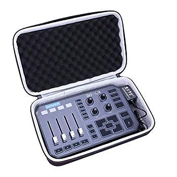 LTGEM Hard Case for GoXLR Mixer Sampler Voice FX Travel Carrying Protective Storage Bag