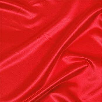 Tela Es Se Vende por Metros Telas Online UK Gran Calidad Trajes de Novia Barato Vestido de Sat/én Tela Rojo