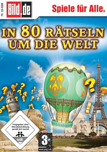 Videojuego «La vuelta al mundo en 80 puzles» (versión en alemán)