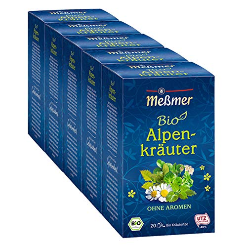 Meßmer Bio Alpenkräuter, 5er Pack