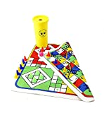 IVAR Ludo & Snake Ladder 2 in 1 Home Board Game Time Pass Best Gift for Kids Travel Game Pocket Game. Set of 1
