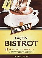 A conserver au sec et à l'abri de la chaleur Une poudre de cacao déjà sucrée à mélanger avec du lait En 1828, C. J. Van Houten inventa la méthode spéciale de torréfaction du cacao qui est encore le secret de la Maison Van Houten. Grce à cette méthode...