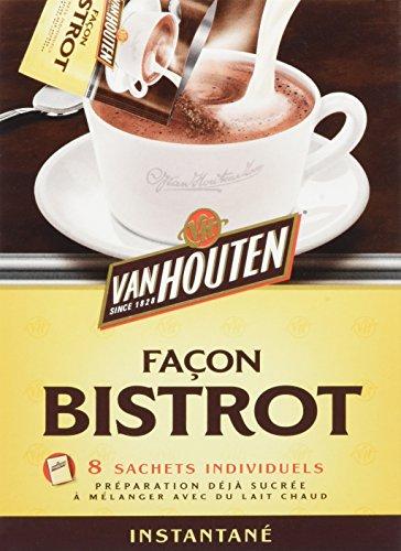 pas cher un bon Van Houten Chocolate Bistro Style – Boîte de 8 sacs, 160 g