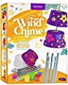 Create & Paint a Mini Wind Chime Making Kit - Arts and Crafts Gift for Girls & Boys Ages 4 5 6 7 8 9 10 -12 - Birthday & Christmas Gifts for Kids - Kid Art & Craft Kits - DIY Stuff for Girl Age 4-12 by Dan&Darci