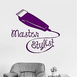 Styliste Maître Vinyle Stickers Muraux Salon De Co